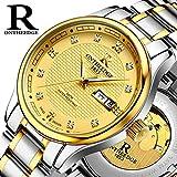 Genießen Armbanduhren Automatik Chronograph Uhr Edelstahl Uhrarmband Business Watch