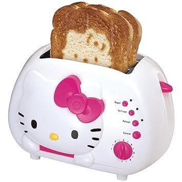 Hello Kitty 2 Slice Wide Slot Toaster