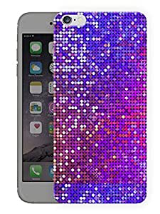 "Humor Gang Glitter Button Pattern Printed Designer Mobile Back Cover For ""Apple Iphone 6 - 6S"" (3D, Matte, Premium Quality Snap On Case)"