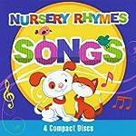 Nursery Rhymes Songs 4 cd set
