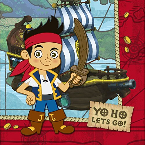 Jake and the Never Land Pirates Lunch Napkins 16pk - 1