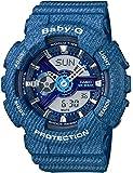 [カシオ]CASIO 腕時計 BABY-G DENIM'D COLOR BA-110DC-2A2JF レディース