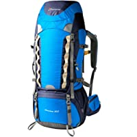 Mountaintop 60L Water-Resistant Hiking Backpack