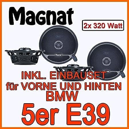 BMW 5 e39-haut-parleur avant-arrière &magnat pro selection 132 avec 13 cm
