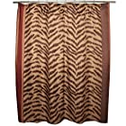 Traditions by Waverly Couture Kingdom Animal Print Fabric Shower Curtain