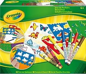 Crayola 5310 - Set De Plantillas Divertidas