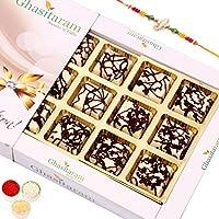 Rakhi Chocolates-Marble Chocolate Box (12 Pcs)
