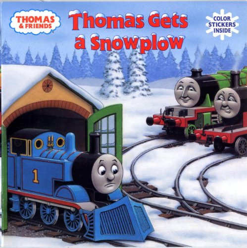 Thomas Gets a Snowplow (Thomas & Friends) (Pictureback(R))