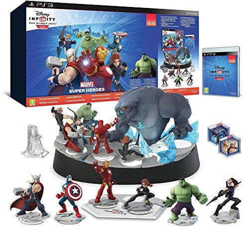 Disney Infinity 2.0: Marvel Super Heroes - Pack De Démarrage (Inclus Hulk) - Édition Collector [Importación Francesa]