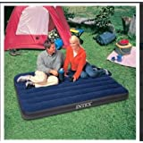 Intex Inflatable Twin Classic Air Bed/Mattress - Blue