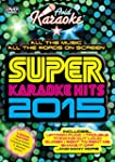 Super Karaoke Hits 2015 [DVD]