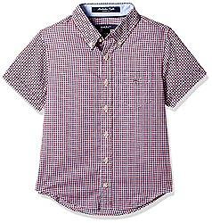 Gant Boys' Shirt (GBSFF0026_Red_XXL)