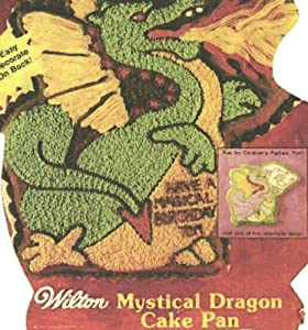 Wilton Cake Pan: Mystical Dragon/Racing Turtle/Kangaroo (2105-1750, 1984)