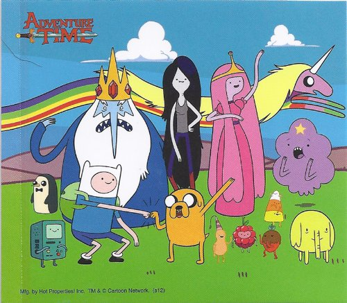 Adventure Time Characters Group Sticker