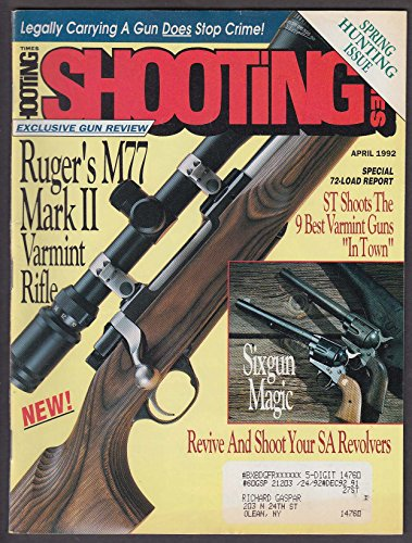 SHOOTING TIMES Ruger M77 Mark II Savage Remington Winchester Weatherby ++ 4 1992 (Ruger M77 Mark Ii compare prices)