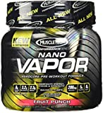 Muscletech Performance Series Nano Vapor Fruit Punch 40 Servings Nitric Oxide 1.2lb
