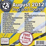 All Star Karaoke August 2012 Pop and Country Hits (ASK-1208)by Cupid, Owl City feat Carly Rae Jespen, Toby Keith, Adele, The Band Perry, Jake O (2012-08-22)