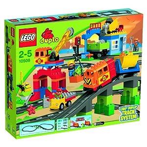 LEGO Duplo 10508 - Juego de construcción de circuito de tren