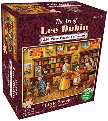 Karmin International Lee Dubin Little Shopper Puzzle (550-Piece)