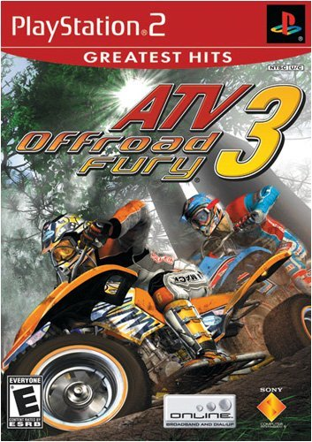 Atv Offroad Fury 3 - Playstation 2 front-571656
