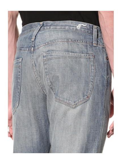 Earnest Sewn Men's Fulton 5 Pocket Straight Jeans