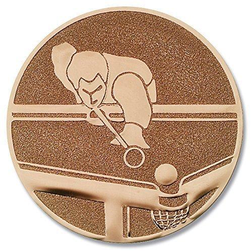 Pokal-Emblem Pool-Billard Bronze