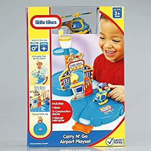 Little Tikes Carry 'N Go Airport Playset