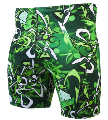 Aero Tech Designs Men's High Performance Exercise Short Green Machine X-Large