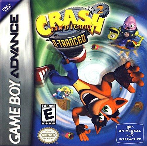 Crash Bandicoot 2 N-tranced Rare Gameboy Advance GBA Ds Sp DSL NDS (Crash Bandicoot Gameboy Advance compare prices)