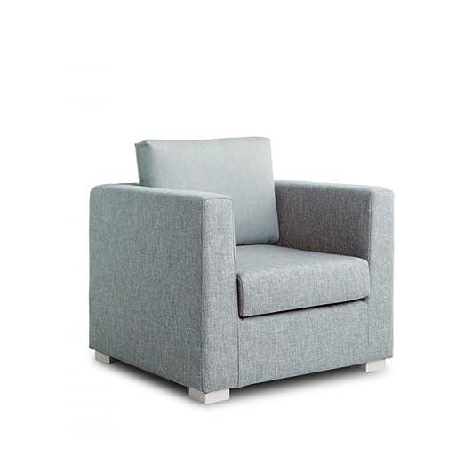 Design Twist Daisy Poltrona, Stoffa, Azzurro, 90 x 83 x 80 cm