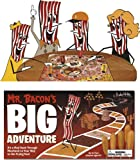 Mr. Bacon's Big Adventure Board Game Family Activity Toy Novelty Item Gag Gift