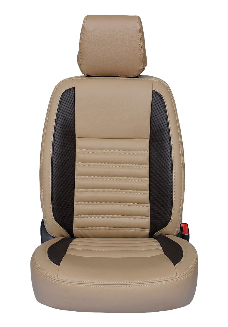Autofurnish CZ 113 Beige Leatherite Car Seat Covers For