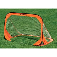 Buy Champro Pop Up Goals - Set (Orange, 6 x 4-Feet) by Champro