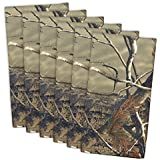 "DII 100% Cotton, Oversized Basic Everyday 20x 20"" Napkin, Set of 6, Real Tree Camo"