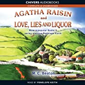 Agatha Raisin and Love, Lies and Liquor | M.C. Beaton