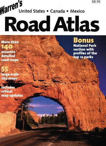 Warren's USA / Canada / Mexico Road Atlas - Harvard Book Store on