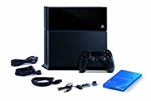 Sony PlayStation 4 Console, Certified Refurbished, Black