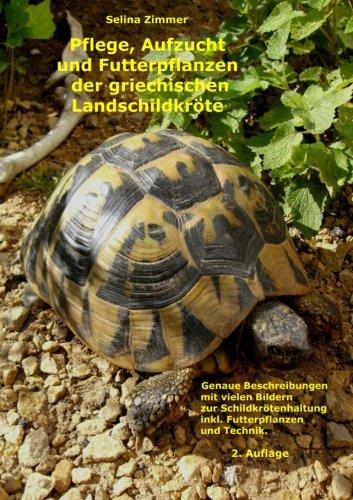Pflege, Aufzucht Und Futterpflanzen Der Griechischen Landschildkroete In Menschlicher Obhut (German Edition)
