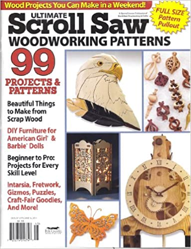 Ultimate scroll saw woodworking patterns