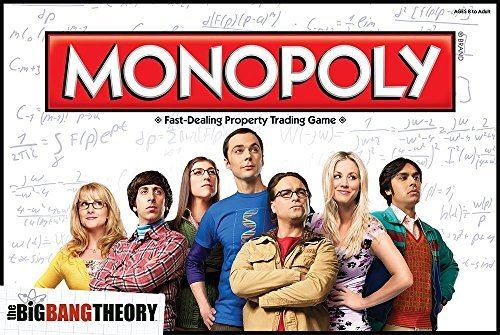The Big Bang Theory Monopoly [parallel import goods]