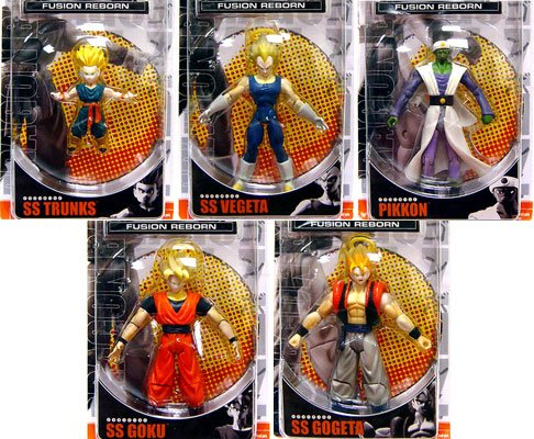 Buy Low Price Jakks Pacific Dragonball Z 'Best of Dragonball Z' Set of 6 Fusion Reborn Action Figures (B000QHF64M)