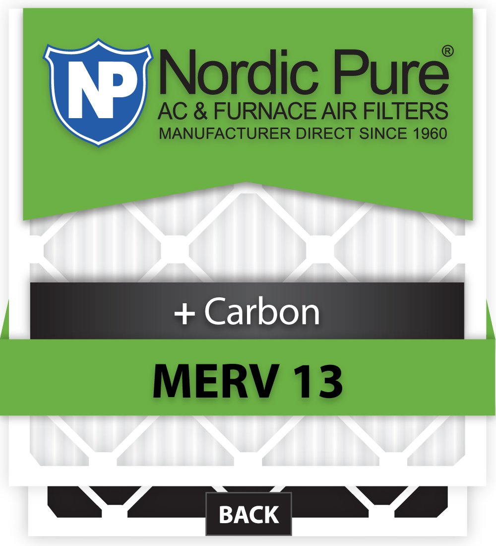 16x25x3 Ultravation Replacement MERV 13 Plus Carbon Qty 3