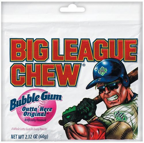 Big League Chew Grape Bubble Gum