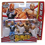 Stone Cold Steve Austin and The Rock WWE Rumblers Action Figure 2 Pack