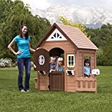 Backyard Discovery Aspen All Cedar Wood Playhouse