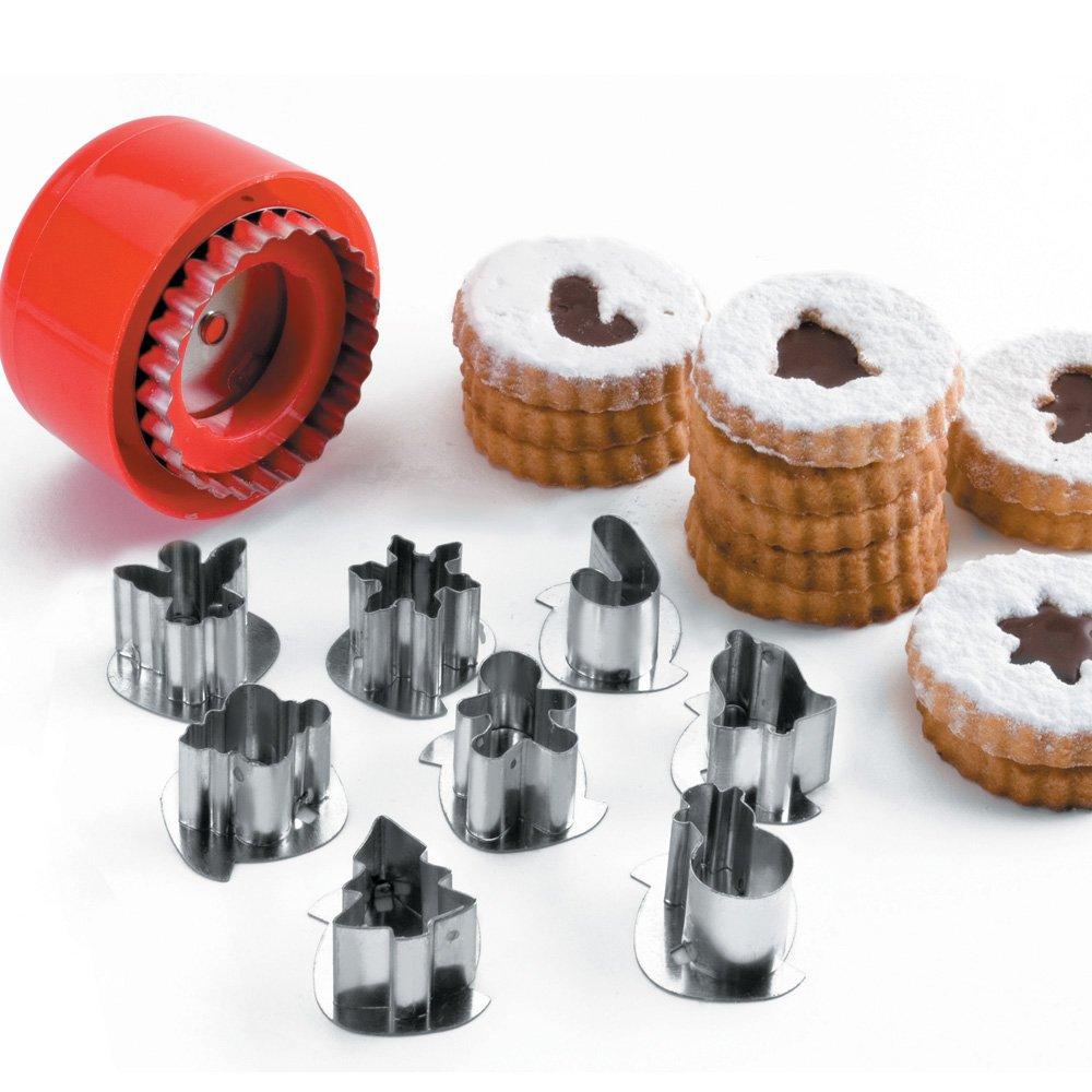 Lacor 68087 - Set de 8 cortadores de galletas   Más información y revisión del cliente