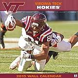 Turner Perfect Timing 2015 Virginia Tech Hokies Team Wall Calendar, 12 x 12 Inches (8011613)