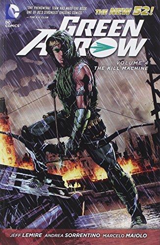 Green Arrow Volume 4: The Kill Machine TP (The New 52)