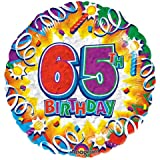 18 Birthday Explosion 65 Prismatic Balloon  1 ct 1 per pack