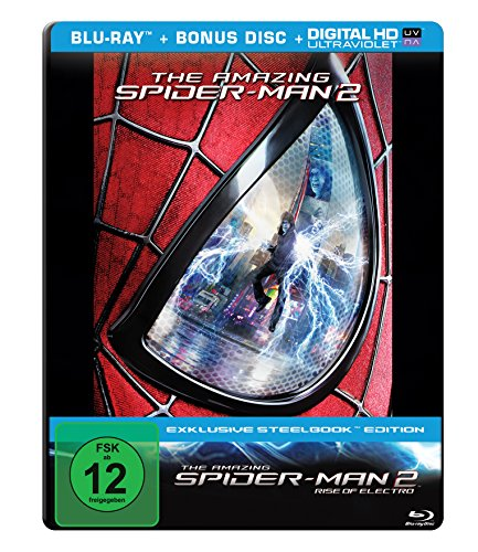 The Amazing Spider-Man 2: Rise of Electro (Steelbook) [Blu-ray]